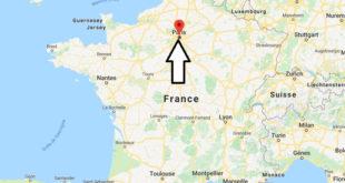 Où se trouve Paris