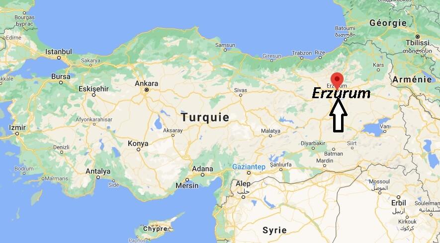 Dans quel pays se trouve Erzurum