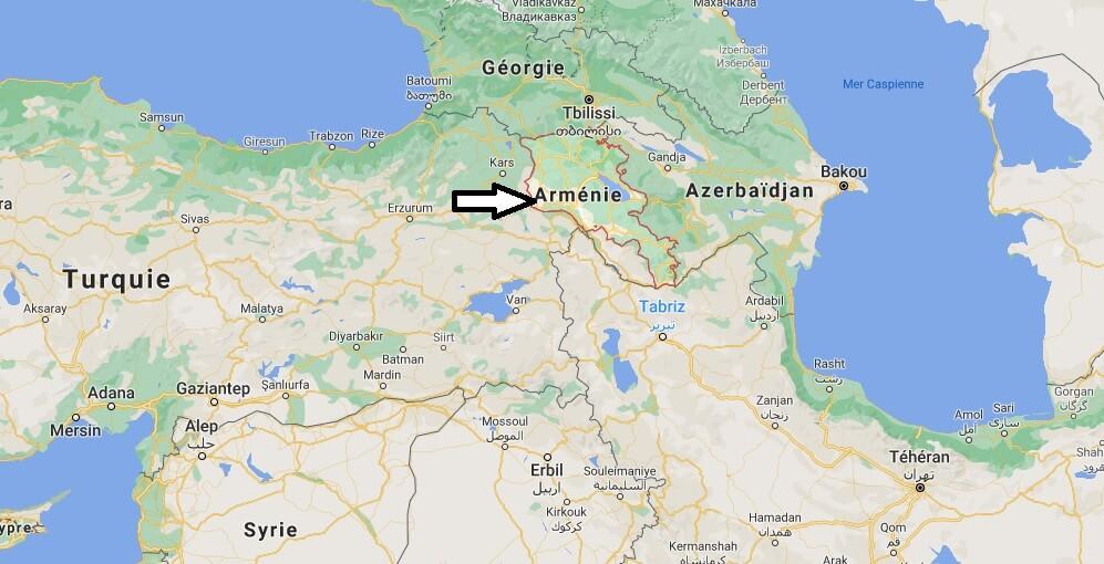 Où se situe Arménie