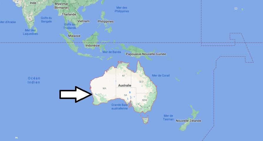Où se situe Australie