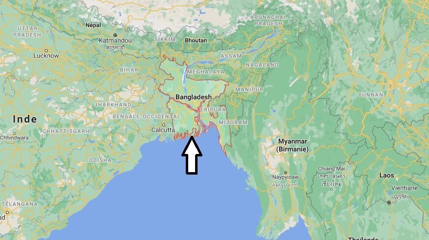 Où se situe Bangladesh