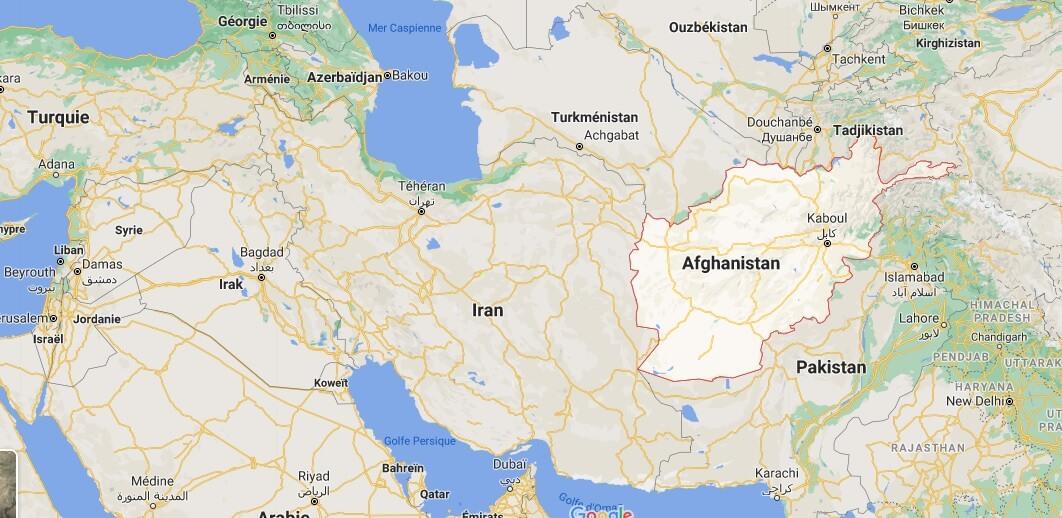 Ou se trouve Afghanistan