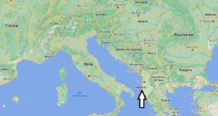 Où se trouve Albanie