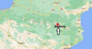 Où se trouve Andorre