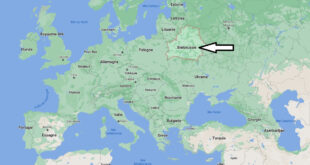 Où se trouve Biélorussie