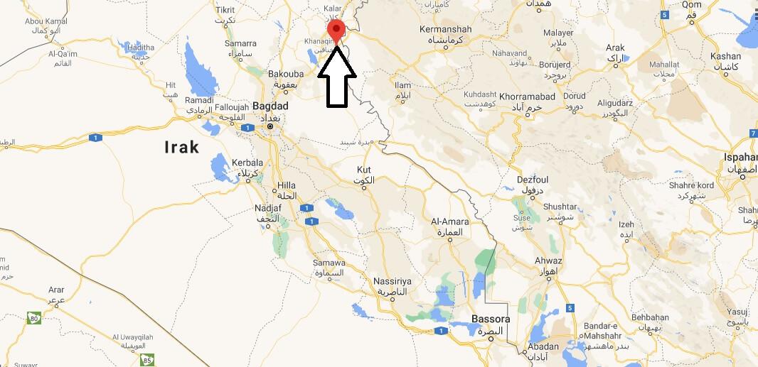 Où se trouve Khanaqin