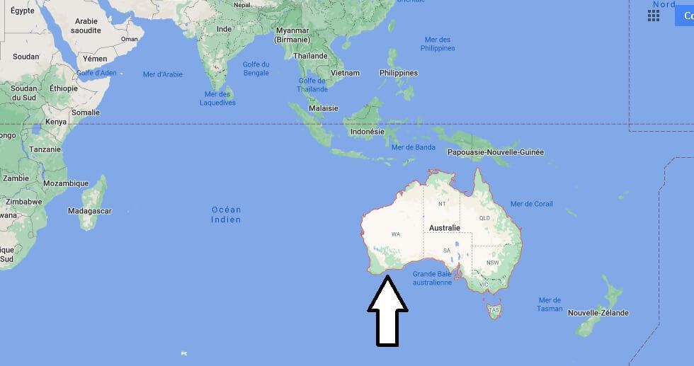 Où se trouve L-Australie