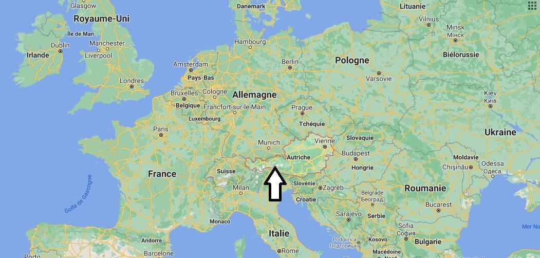 Où se trouve L-Autriche