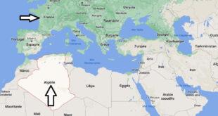 Où se trouve l-Algérie