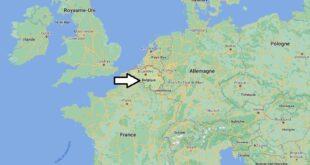 Où se trouve la Belgique