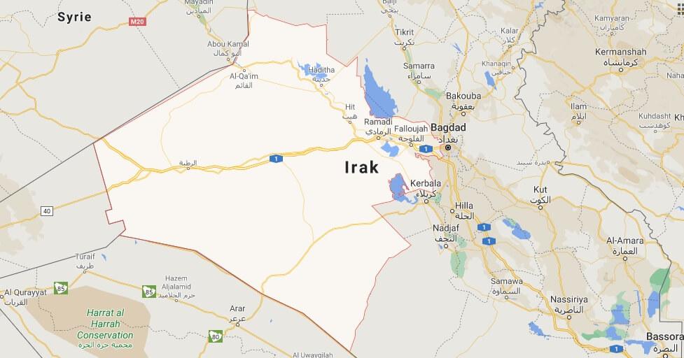 Où se trouve la ville Al-Anbar