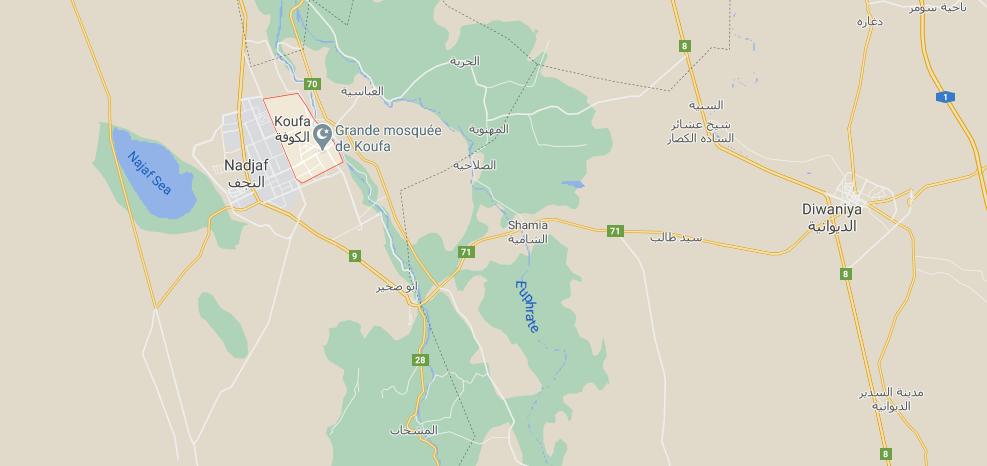 Où se trouve la ville Koufa