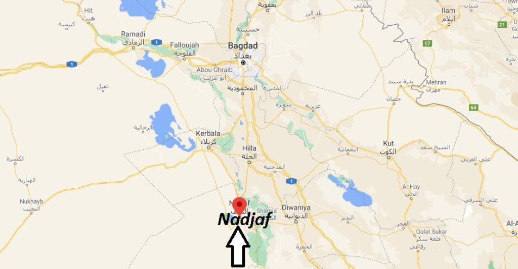 Où se trouve la ville Nadjaf