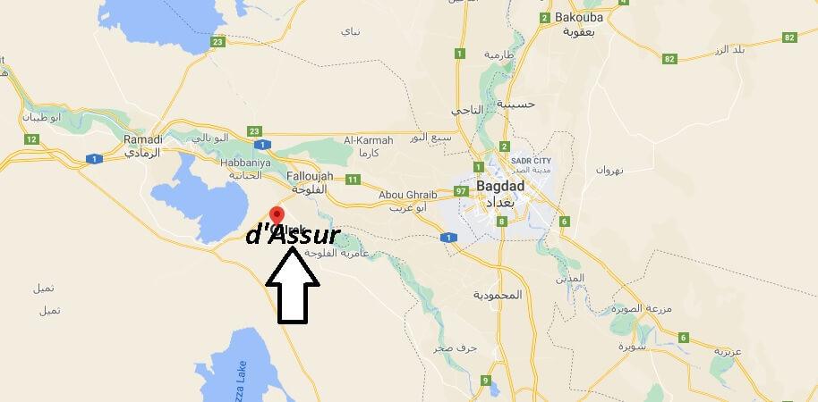 Où se trouve la ville dAssur