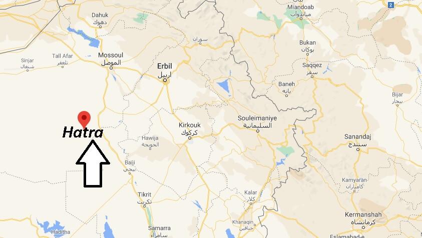 Où se trouve la ville de Hatra