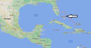 Où se trouve les Bahamas