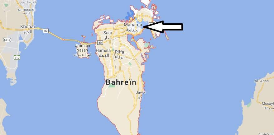 Quelle est la capitale de Bahreïn