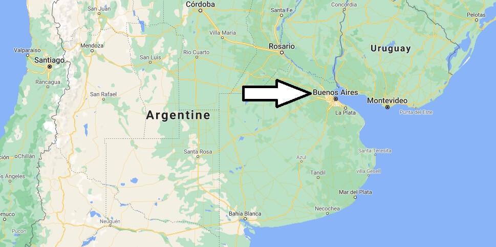 Quelle est la capitale de l-Argentine
