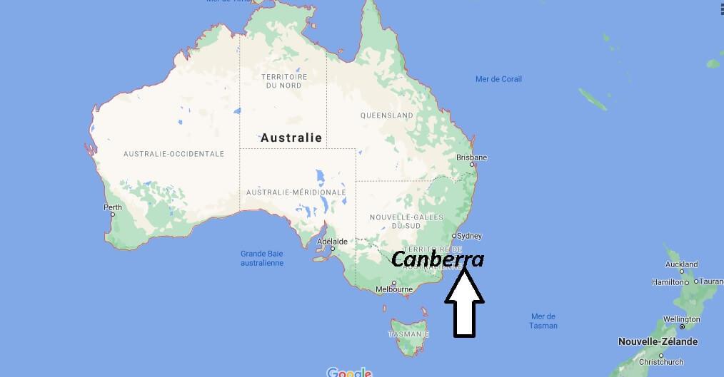 Quelle est la capitale de l-Australie