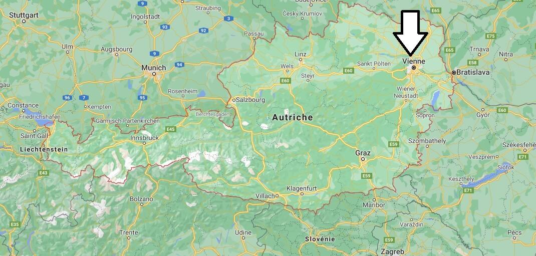 Quelle est la capitale de l-Autriche