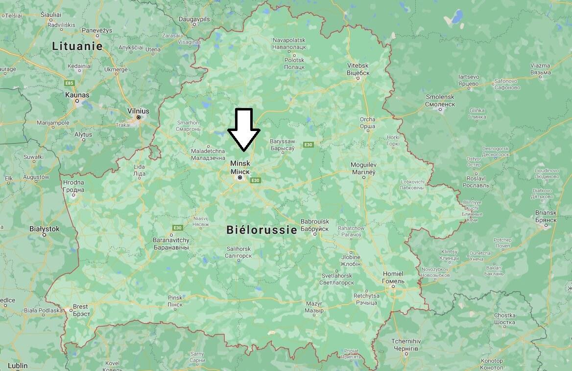 Quelle est la capitale de la Biélorussie