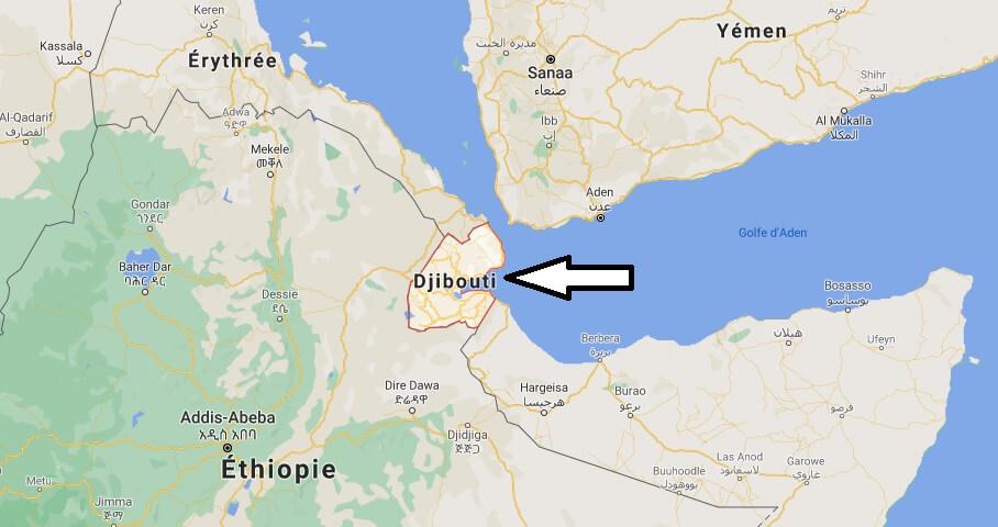 Où est situé Djibouti