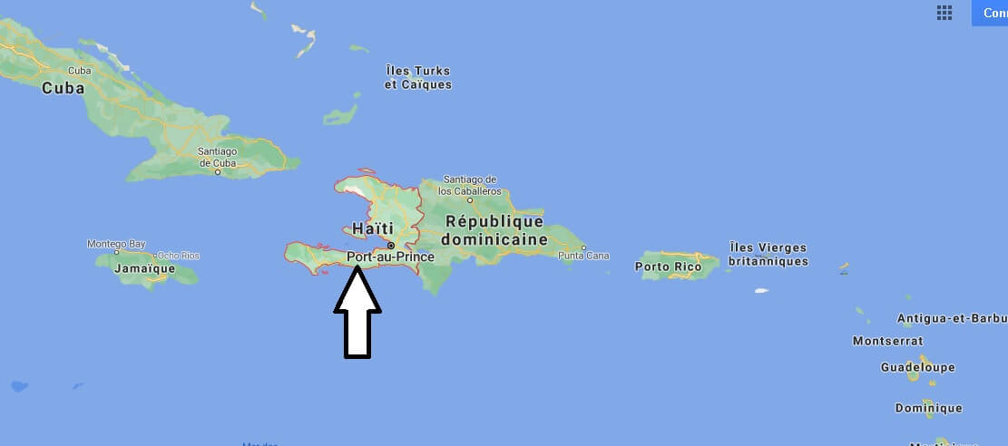 Où est situé Haiti