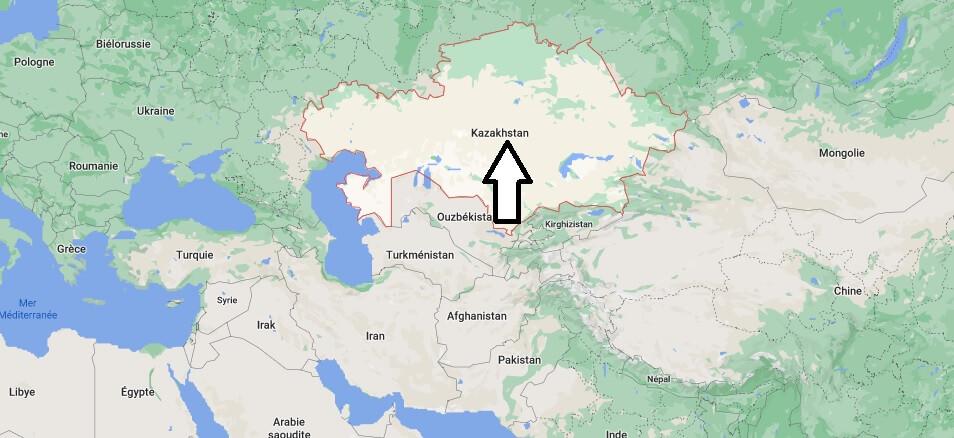 Où est situé Kazakhstan