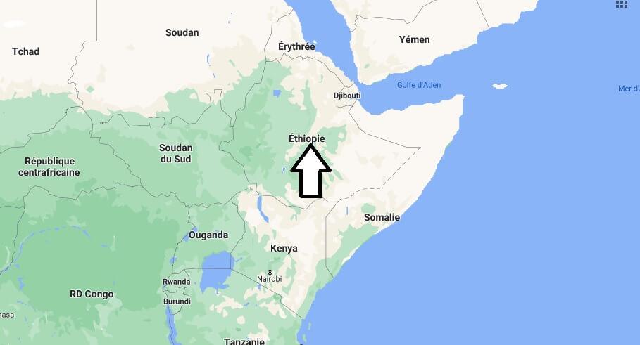 Où est situé l-Éthiopie