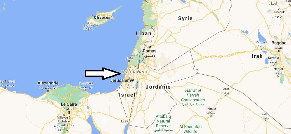 Où est situé l-Israël