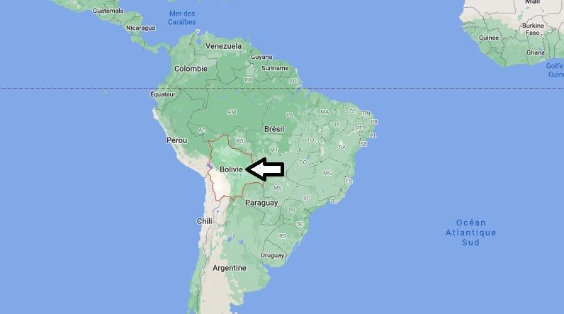Où est situé la Bolivie