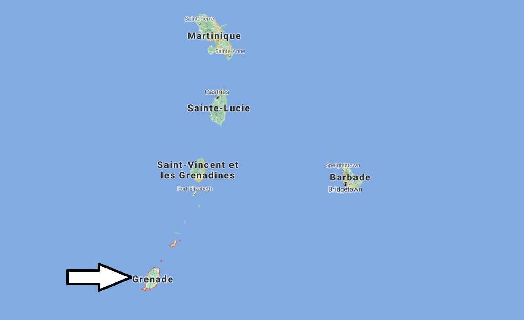 Où est situé la Grenade