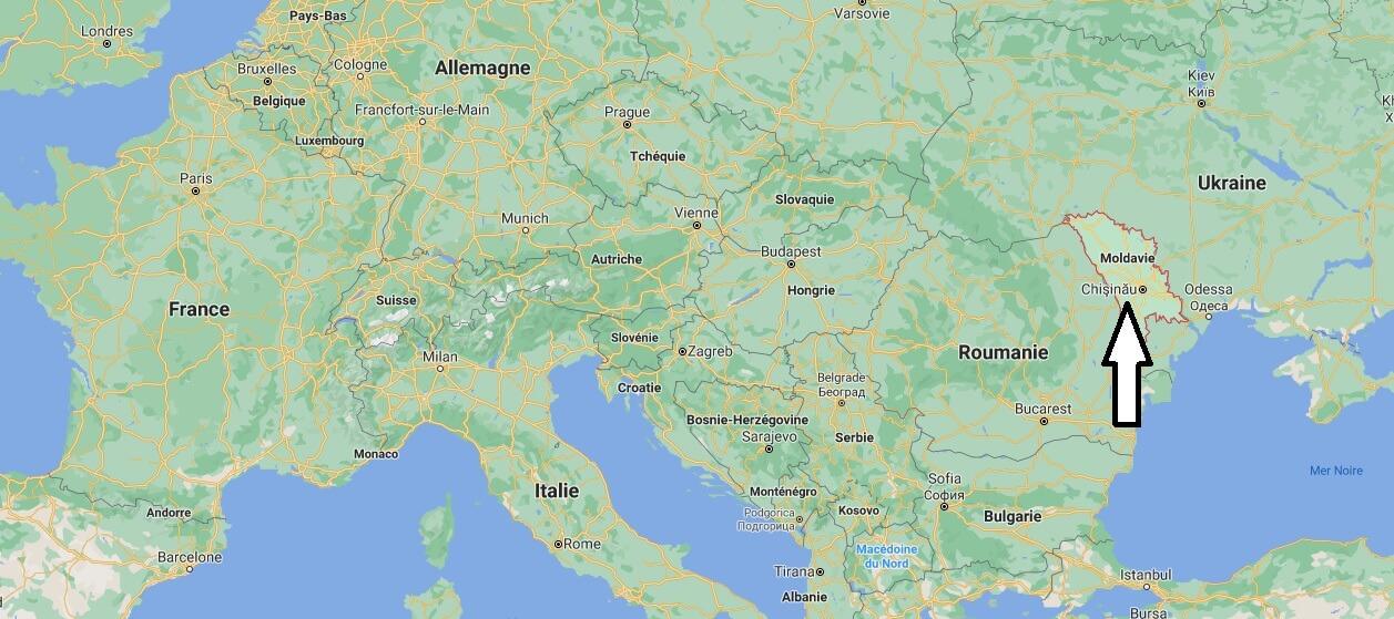 Où est situé la Moldavie