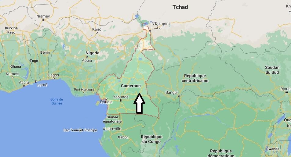 Où est situé le Cameroun