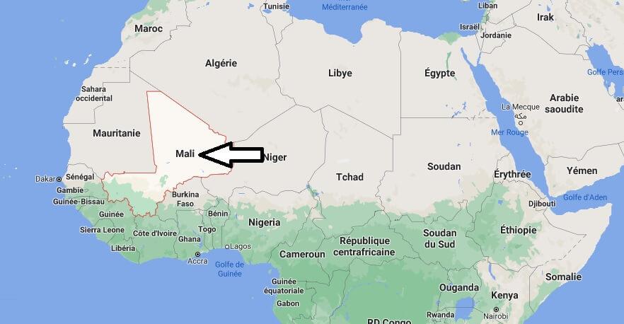 Où est situé le Mali