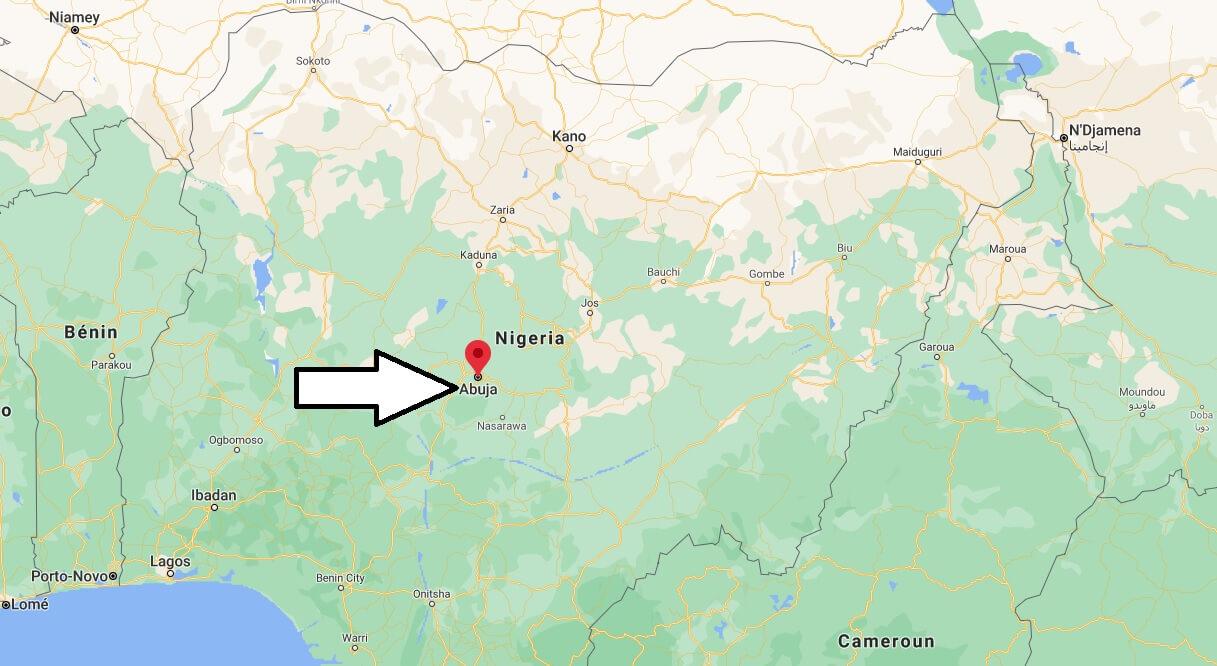 Où se situe Abuja