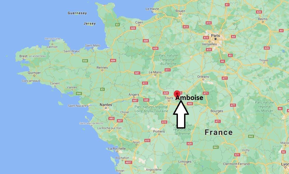 Où se situe Amboise (Code postal 37400)