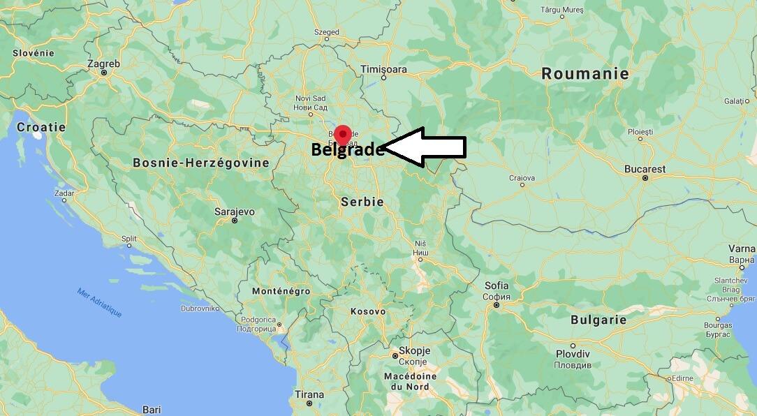 Où se situe Belgrade