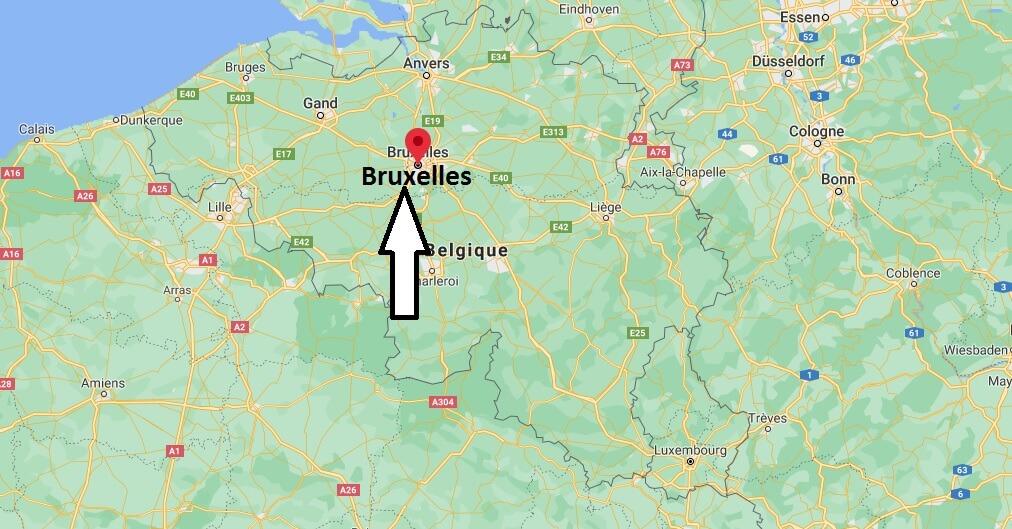 Où se situe Bruxelles