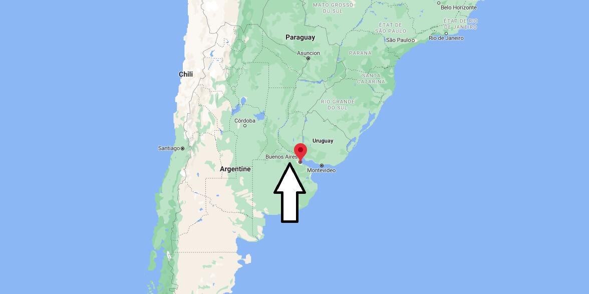 Où se situe Buenos Aires