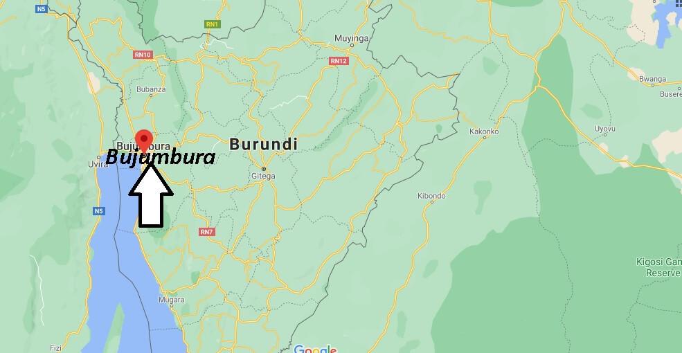 Où se situe Bujumbura