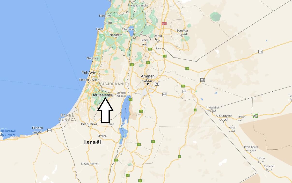Où se situe Jérusalem