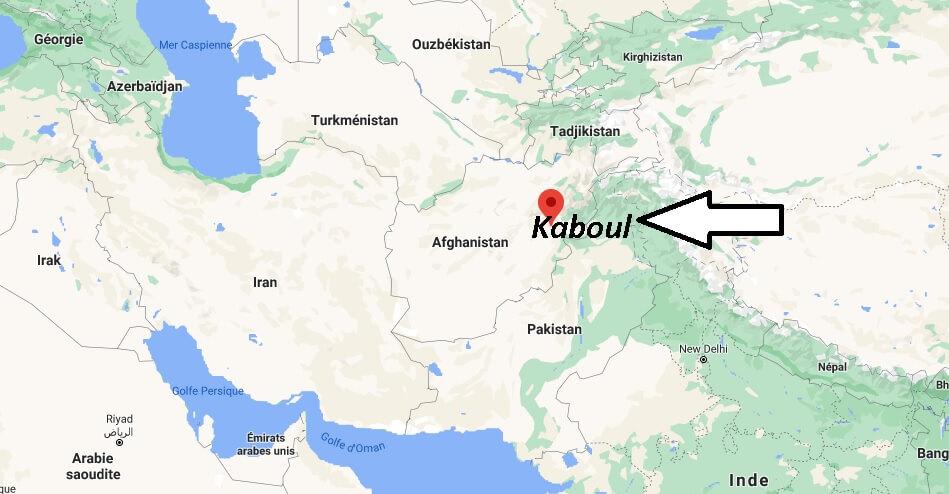 Où se situe Kaboul