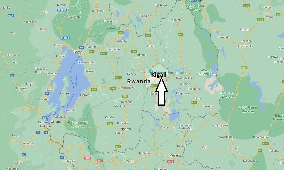 Où se situe Kigali