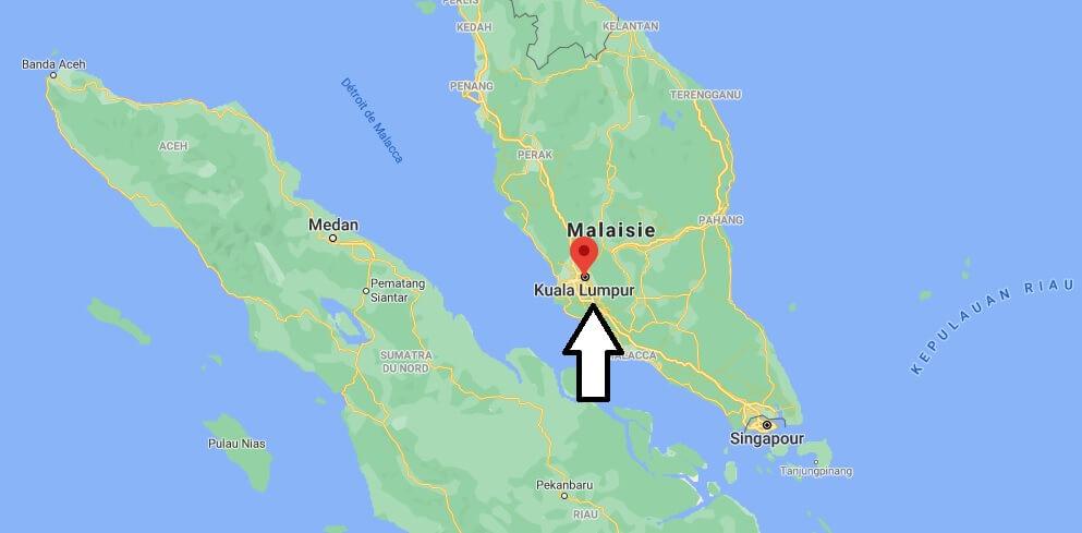 Où se situe Kuala Lumpur
