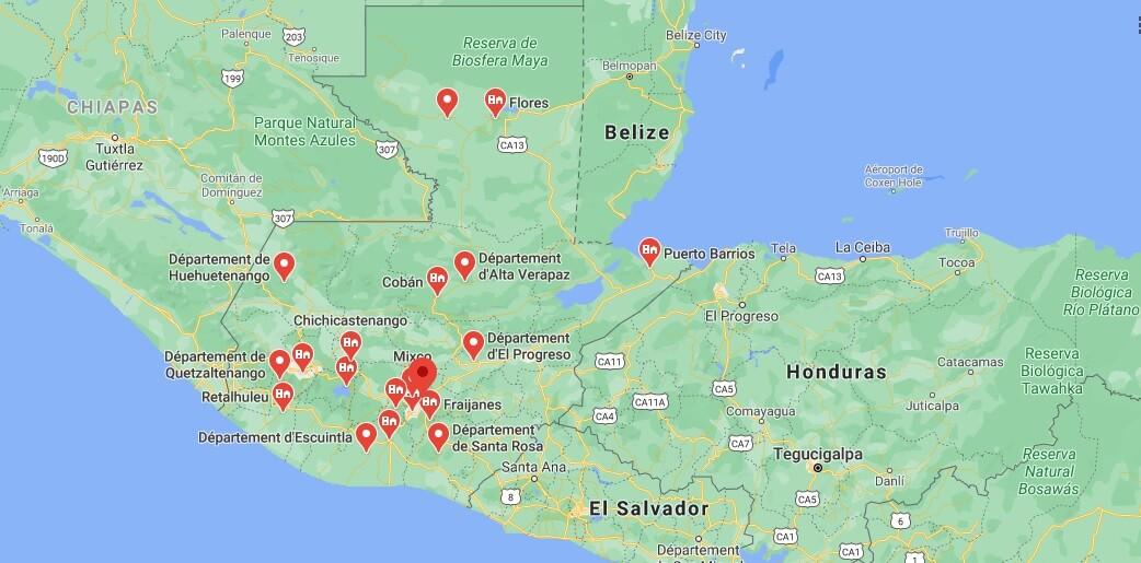 Où se situe La Ville De Guatemala