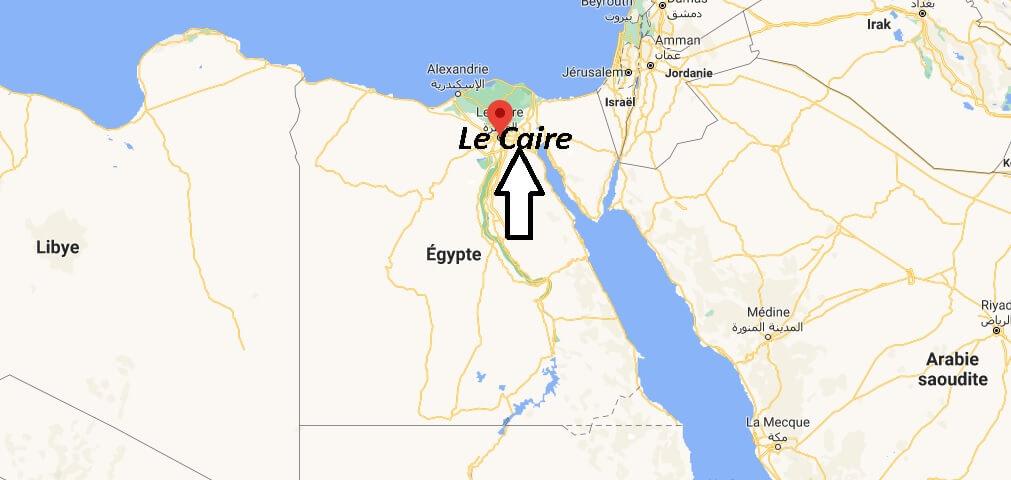 Où se situe Le Caire