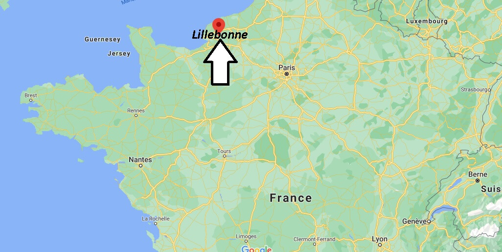 Où se situe Lillebonne (Code postal 76384)