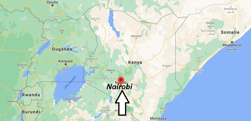 Où se situe Nairobi