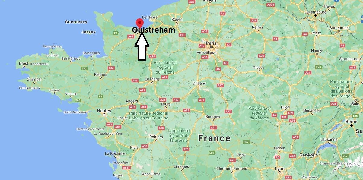 Où se situe Ouistreham